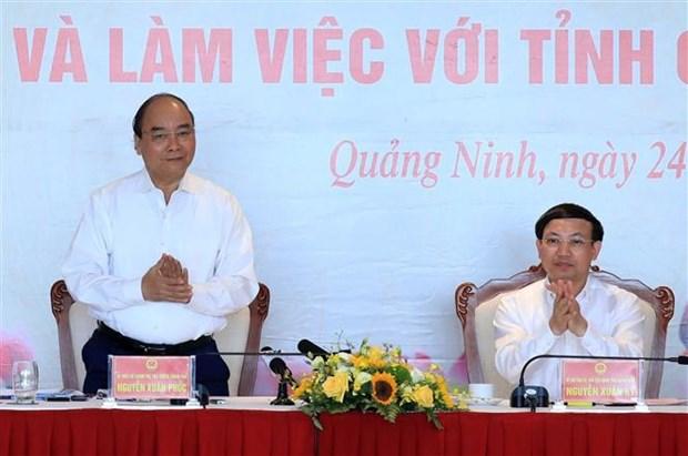 Thu tuong Nguyen Xuan Phuc: Quang Ninh can co chien luoc phat trien kinh te du lich mui nhon hinh anh 1