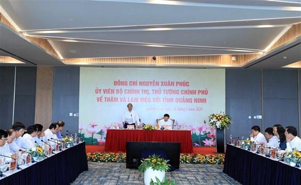 Thu tuong Nguyen Xuan Phuc: Quang Ninh can co chien luoc phat trien kinh te du lich mui nhon hinh anh 4