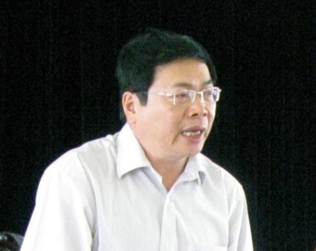 Khoi to cuu Bo truong Bo Cong Thuong Vu Huy Hoang hinh anh 1