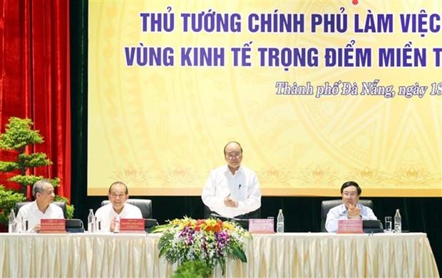 "Thu tuong Chinh phu Nguyen Xuan Phuc: Can cham dut tinh trang ""tri tre"" trong giai ngan von dau tu cong tai cac tinh mien Trung – Tay Nguyen hinh anh 4"