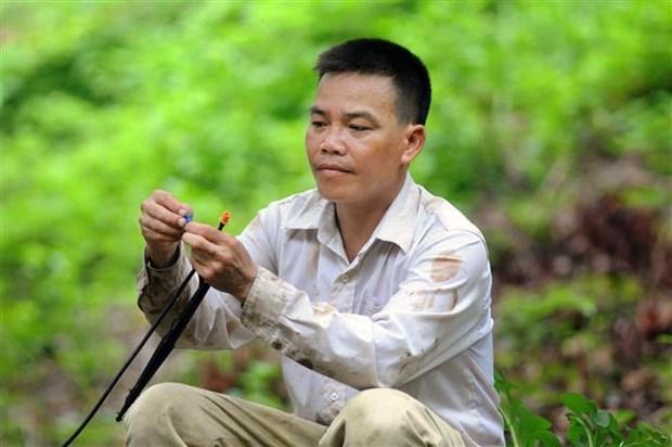 Cuu chien binh Dinh Van Chan lam giau hinh anh 1