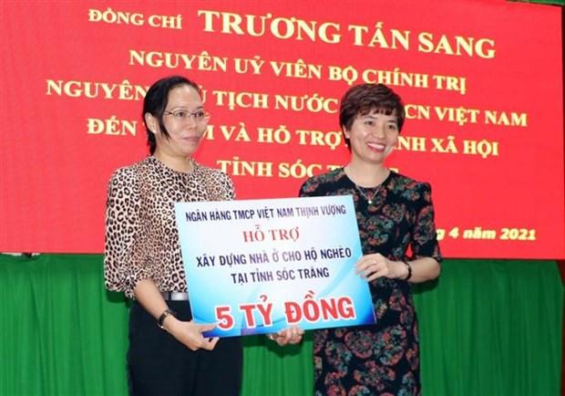 Cac doanh nghiep ho tro 15 ty dong xay dung nha o cho ho ngheo o Soc Trang hinh anh 2