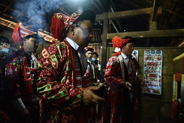 Tai hien Le cung Ban Vuong cua dong bao dan toc Dao hinh anh 6