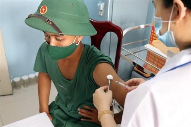 Khong ghi nhan ca mac moi; da co hon 511.000 nguoi tiem vaccine phong COVID-19 hinh anh 1