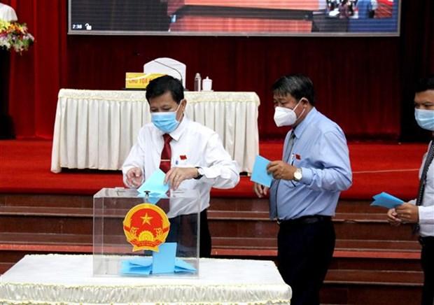 Ong Nguyen Hoai Anh tai dac cu Chu tich HDND tinh Binh Thuan hinh anh 1