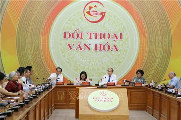 Huong toi xay dung Thanh pho Ho Chi Minh - Thanh pho Van hoa hinh anh 1