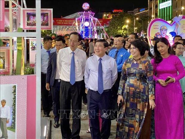Nhieu hoat dong van hoa, the thao dac sac ky niem 44 nam Ngay Thanh pho Sai Gon - Gia Dinh mang ten Bac hinh anh 5