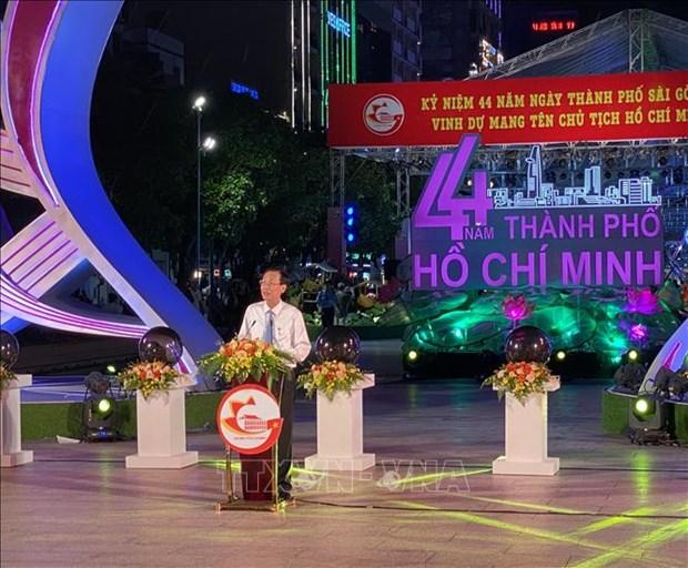 Nhieu hoat dong van hoa, the thao dac sac ky niem 44 nam Ngay Thanh pho Sai Gon - Gia Dinh mang ten Bac hinh anh 2