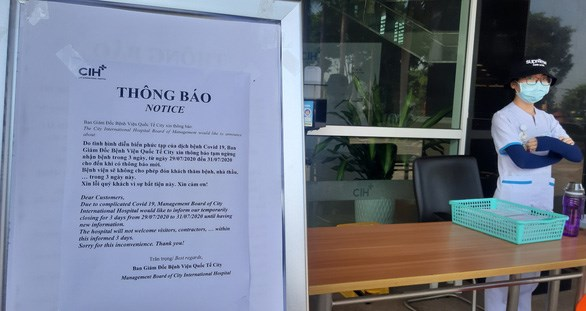 Dich COVID-19: Benh vien Quoc te City Thanh pho Ho Chi Minh tiep tuc ngung nhan benh nhan, lay mau xet nghiem toan bo nhan vien hinh anh 1