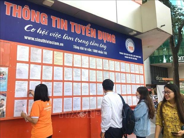 Thanh pho Ho Chi Minh: No luc tim viec lam cho nguoi lao dong trong mua dich COVID-19 hinh anh 5