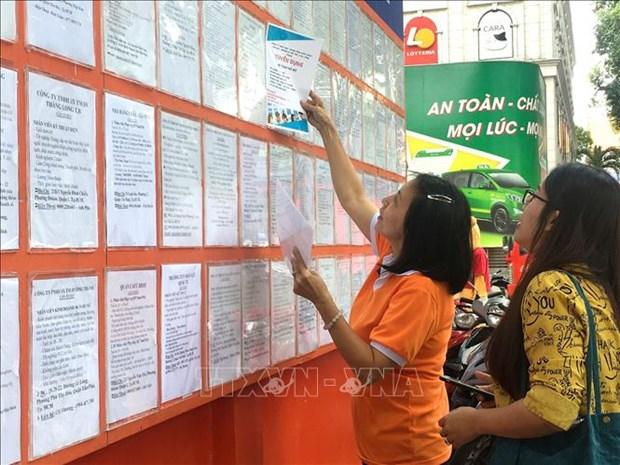 Thanh pho Ho Chi Minh: No luc tim viec lam cho nguoi lao dong trong mua dich COVID-19 hinh anh 4