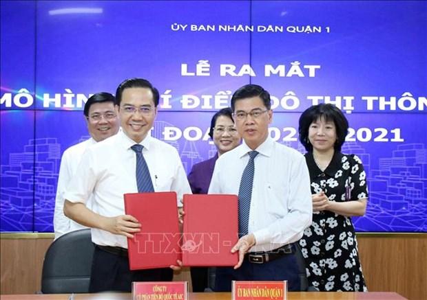 Thanh pho Ho Chi Minh: Mo hinh do thi thong minh tai Quan 1 duoc nang cap voi nhieu tien ich moi hinh anh 4