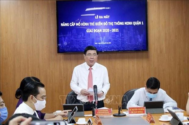 Thanh pho Ho Chi Minh: Mo hinh do thi thong minh tai Quan 1 duoc nang cap voi nhieu tien ich moi hinh anh 2
