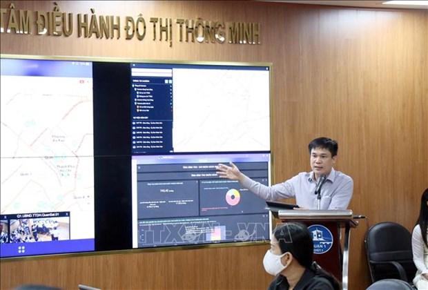 Thanh pho Ho Chi Minh: Mo hinh do thi thong minh tai Quan 1 duoc nang cap voi nhieu tien ich moi hinh anh 1