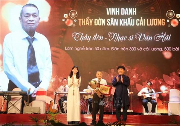 Ngay san khau Viet Nam 2020: Vinh danh cac van nghe sy co nhieu dong gop cho san khau, vi cong dong hinh anh 2