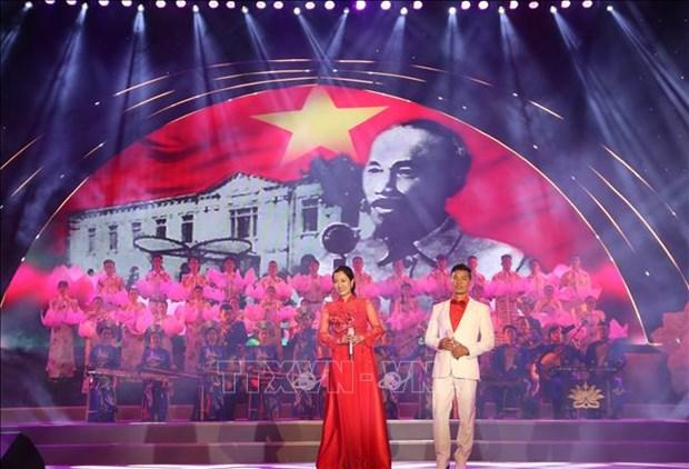 """Dac sac chuong trinh nghe thuat voi chu de """"Thanh pho Ho Chi Minh - Thanh pho anh hung"""" hinh anh 1"""