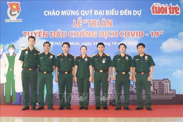 Thanh pho Ho Chi Minh: Tri an tuyen dau chong dich COVID-19 hinh anh 3