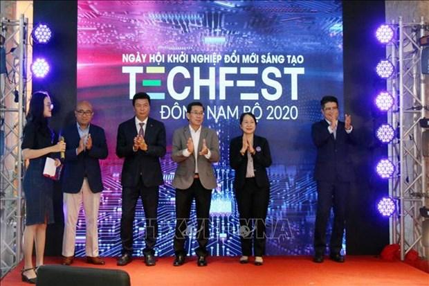 Ngay hoi khoi nghiep doi moi sang tao Dong Nam Bo 2020 hinh anh 1