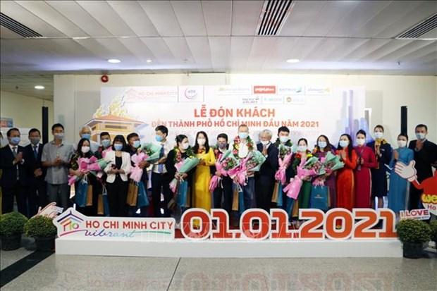 Du lich Viet Nam: Thanh pho Ho Chi Minh chao don nhung du khach dau tien nam 2021 hinh anh 2