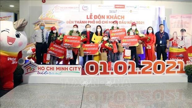 Du lich Viet Nam: Thanh pho Ho Chi Minh chao don nhung du khach dau tien nam 2021 hinh anh 1