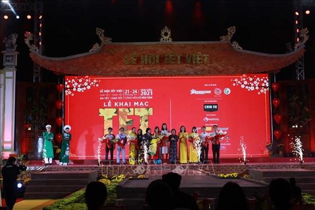 Khai mac Le hoi Tet Viet 2021 tai Thanh pho Ho Chi Minh hinh anh 1