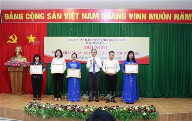 Tang cuong hieu qua cong tac dan toc dong gop vao su phat trien Thanh pho Ho Chi Minh hinh anh 4
