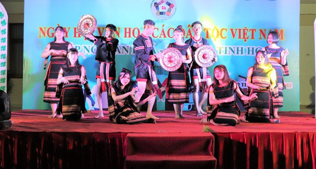 "Sinh vien Truong Dai hoc Van hoa Thanh Pho Ho Chi Minh ""Tiep noi van hoa - Lan toa tinh hoa"" hinh anh 14"