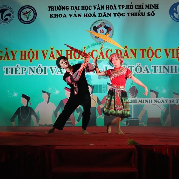 "Sinh vien Truong Dai hoc Van hoa Thanh Pho Ho Chi Minh ""Tiep noi van hoa - Lan toa tinh hoa"" hinh anh 8"