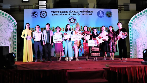 "Sinh vien Truong Dai hoc Van hoa Thanh Pho Ho Chi Minh ""Tiep noi van hoa - Lan toa tinh hoa"" hinh anh 19"