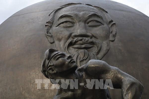 莫斯科胡志明广场—象征着越俄友谊之情的独特工程 hinh anh 1