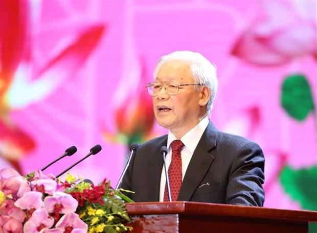 胡志明主席诞辰130周年庆典在河内隆重举行 hinh anh 4