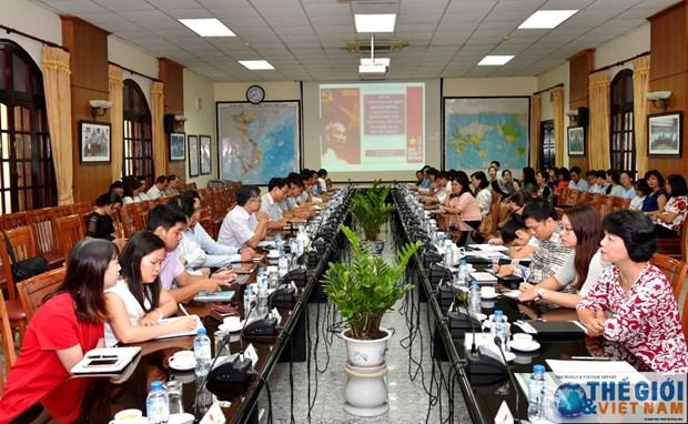 胡志明主席诞辰130周年:越南驻缅甸大使馆举行纪念活动 hinh anh 1