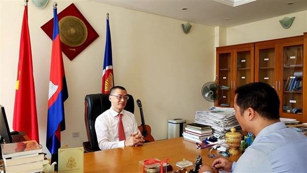 越南驻柬埔寨大使武光明:越南并不肯定第315例新冠病例在柬埔寨感染 hinh anh 1