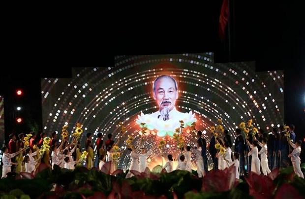 """纪念胡志明主席诞辰130周年:""""胡志明——闪光的越南意志"""" hinh anh 2"""