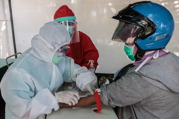 新冠肺炎疫情:印尼和菲律宾单日新增确诊病例达数百例 hinh anh 1
