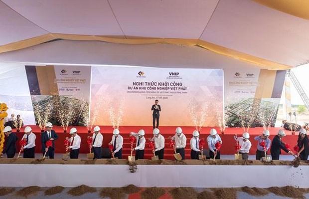 """占地面积达1800公顷的工业区动工兴建 为迎来""""金鹰""""做好准备 hinh anh 1"""