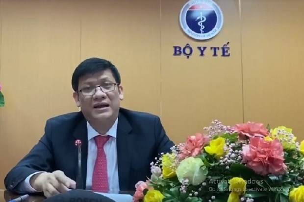越南在第73届世界卫生大会视频会议上分享防疫经验 hinh anh 1