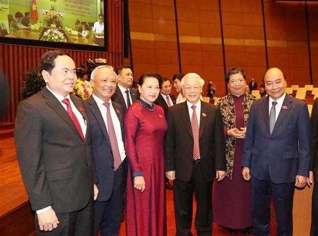 越南第十四届国会第九次会议首日议程 hinh anh 1