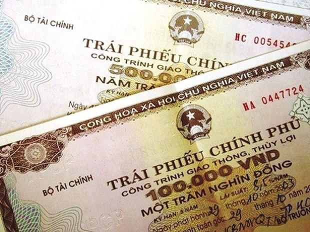 越南政府债券招标发行:成功筹资4.2万亿越盾 hinh anh 1