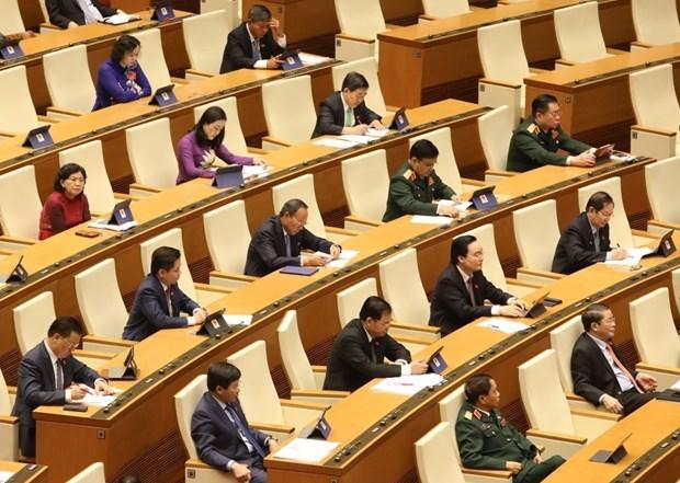第十四届国会第九次会议公报(第二号) hinh anh 1