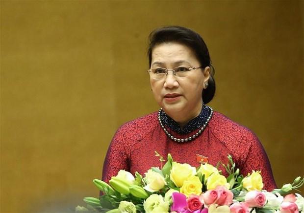 越南第十四届国会第九次会议:国会审议通过多项重要报告 hinh anh 2