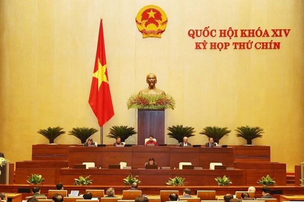 越南第十四届国会第九次会议:国会审议通过多项重要报告 hinh anh 1