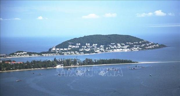 金瓯省开通与富国岛县的海洋旅游线路 hinh anh 1