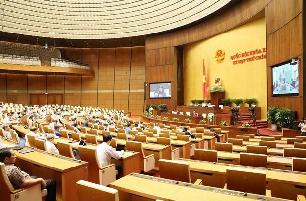 第十四届国会第九次会议:为党的融入国际路线和主张制度化打下基础 hinh anh 2