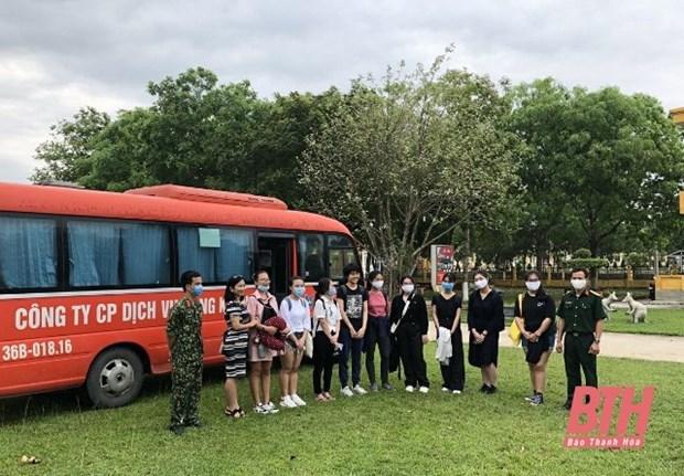 新冠肺炎疫情:161名越南公民结束集中隔离期 hinh anh 1