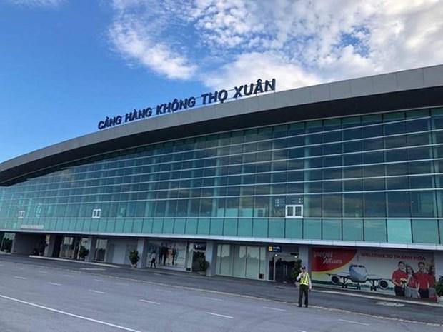 寿春国际航空港年均游客吞吐量将达到500万人次的目标 hinh anh 1