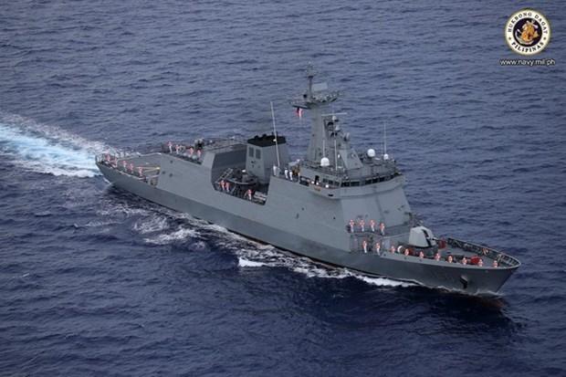 菲律宾海军拥有第一艘导弹护卫舰 hinh anh 1