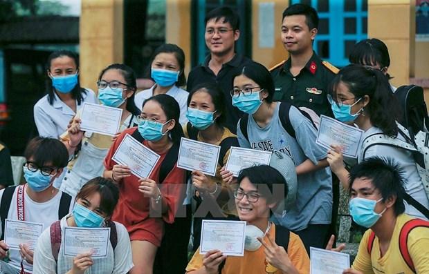 日本电视台盛赞越南防疫质效 hinh anh 1