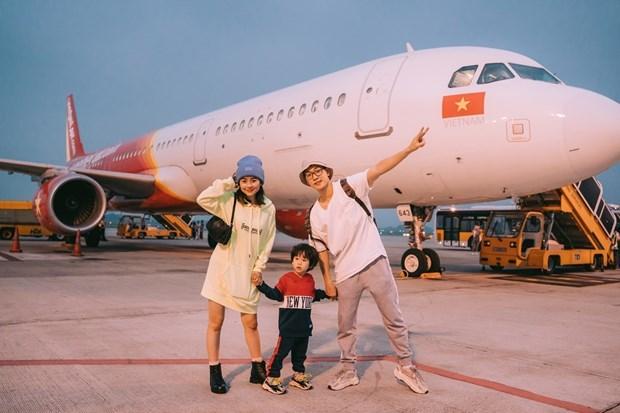 喜迎六一儿童节 越捷航空推出200万张特价机票 hinh anh 2