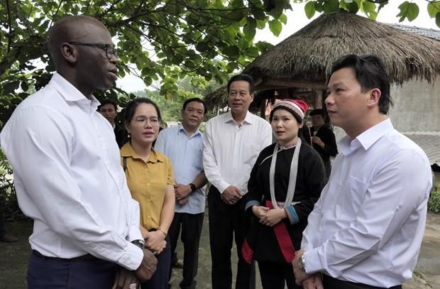 世行驻越首席代表:河江省旅游发展潜力巨大 hinh anh 1